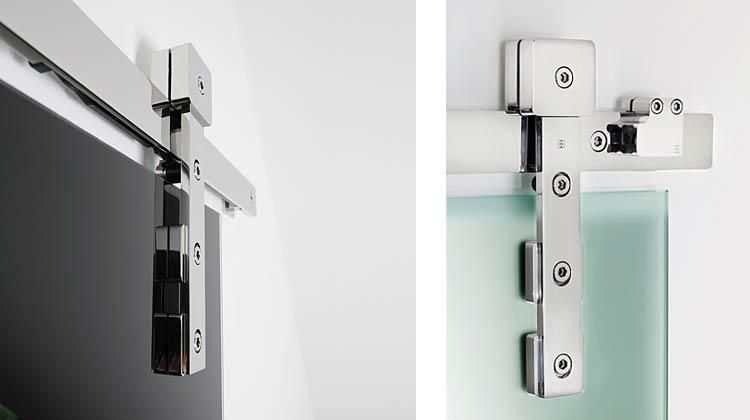 Akzent R Mwe Modern Stainless Steel Sliding Door Hardware St 1043 Ar There S No Accounting Fo Sliding Doors Interior Custom Interior Doors Barn Doors Sliding