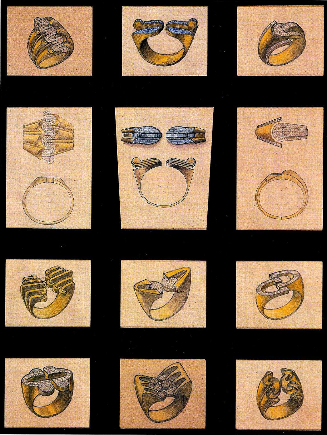 Raymond Templier Sketches