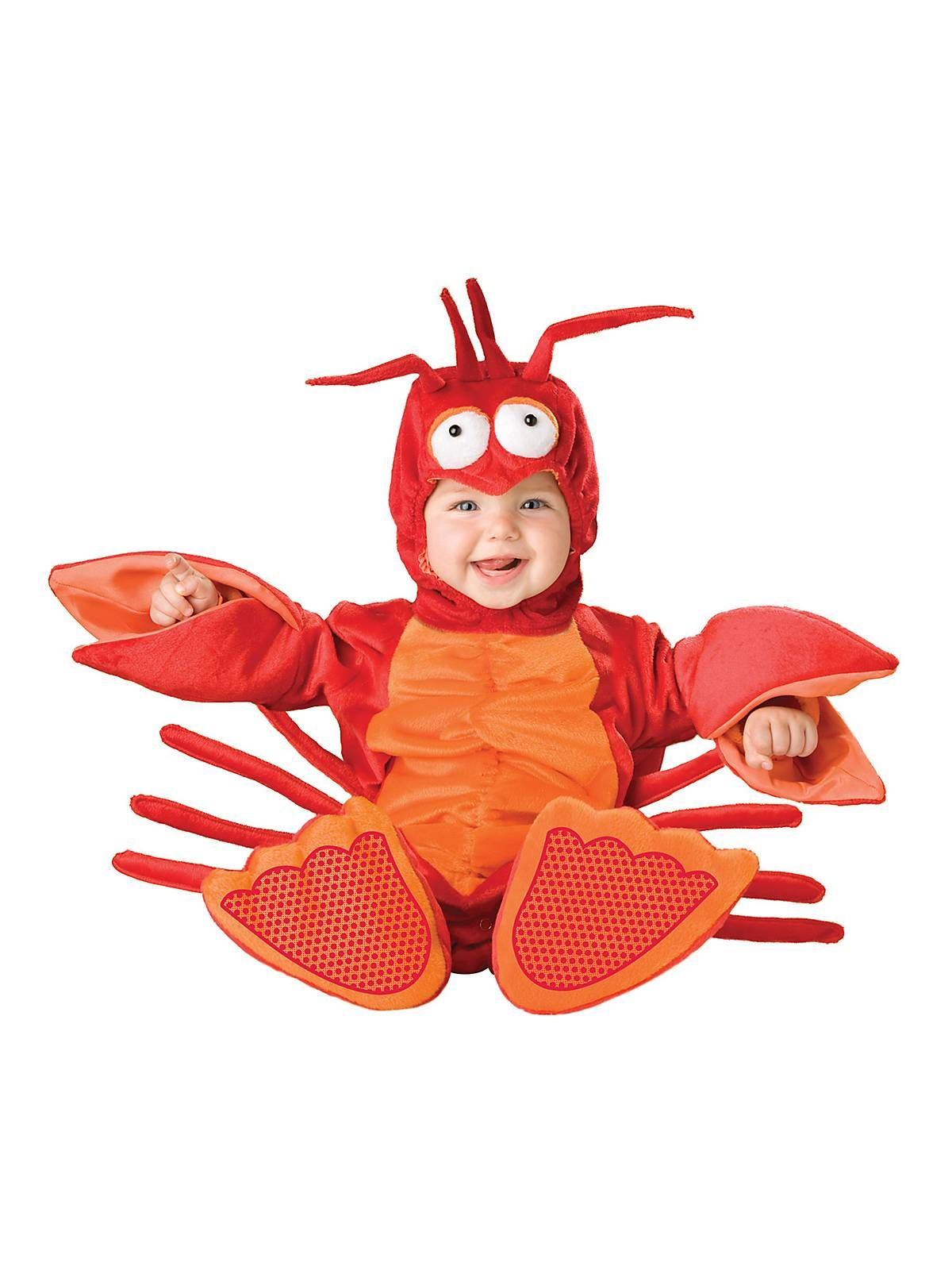 Results 181 240 of 644 for indoor halloween decorations - Baby Lil Lobster Costume Wholesale Animal Costumes For Infants Toddlers