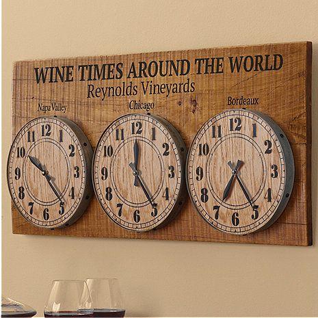 World Clock At Wine Enthusiast