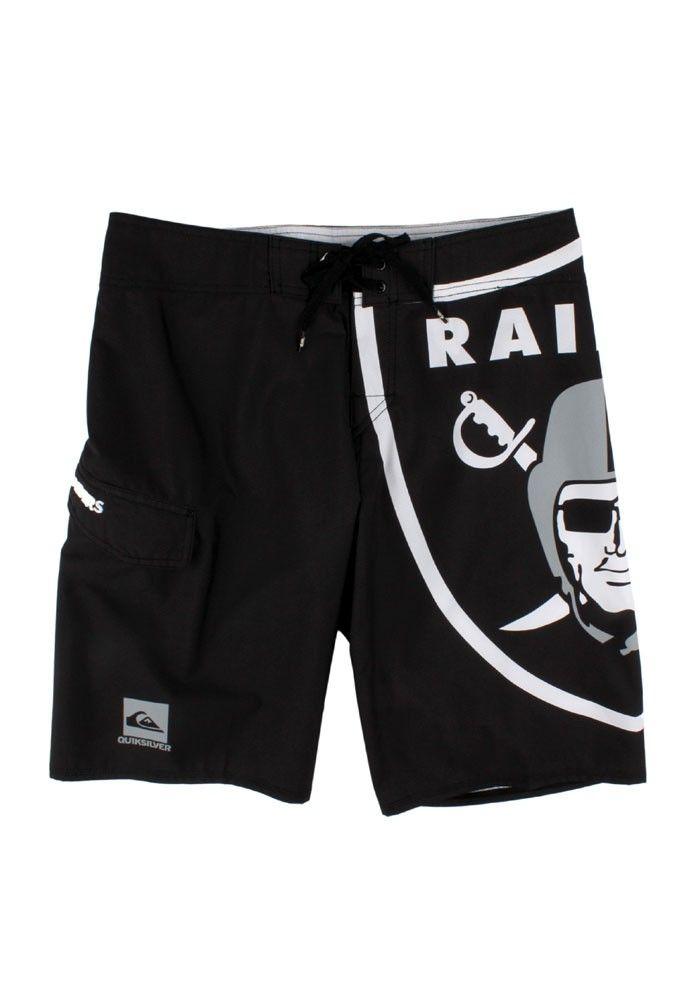 9cc572518c989 Quiksilver Clothing | Board Shorts Black | Raiders NFL #trucker500 ...