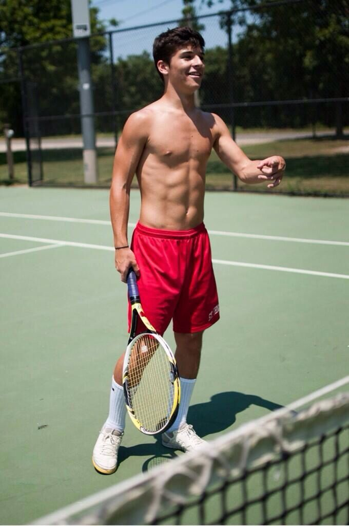 Tennis Players O Donnell Men Abs College Guys