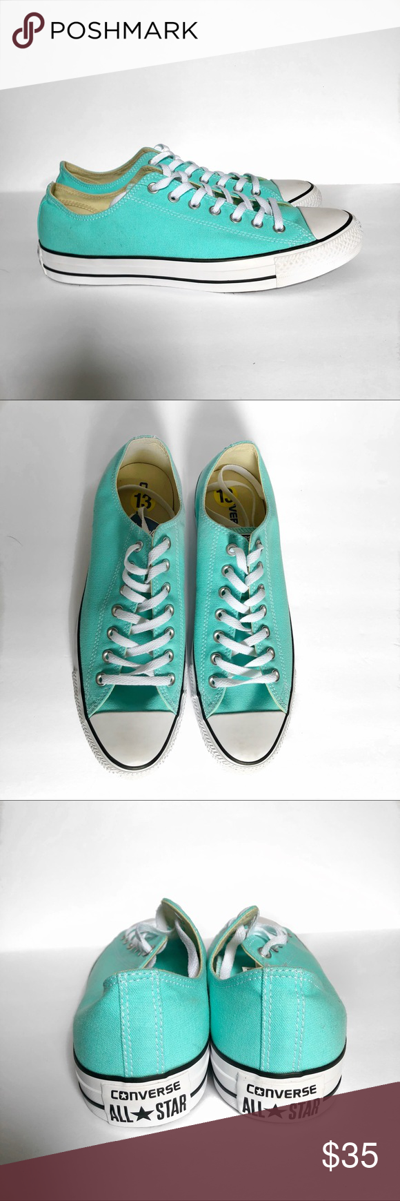 3b2b06baf0c86b NWOT Converse Light Aqua Low Top Chucks New without tags Converse Low Top  Light Aqua Chucks