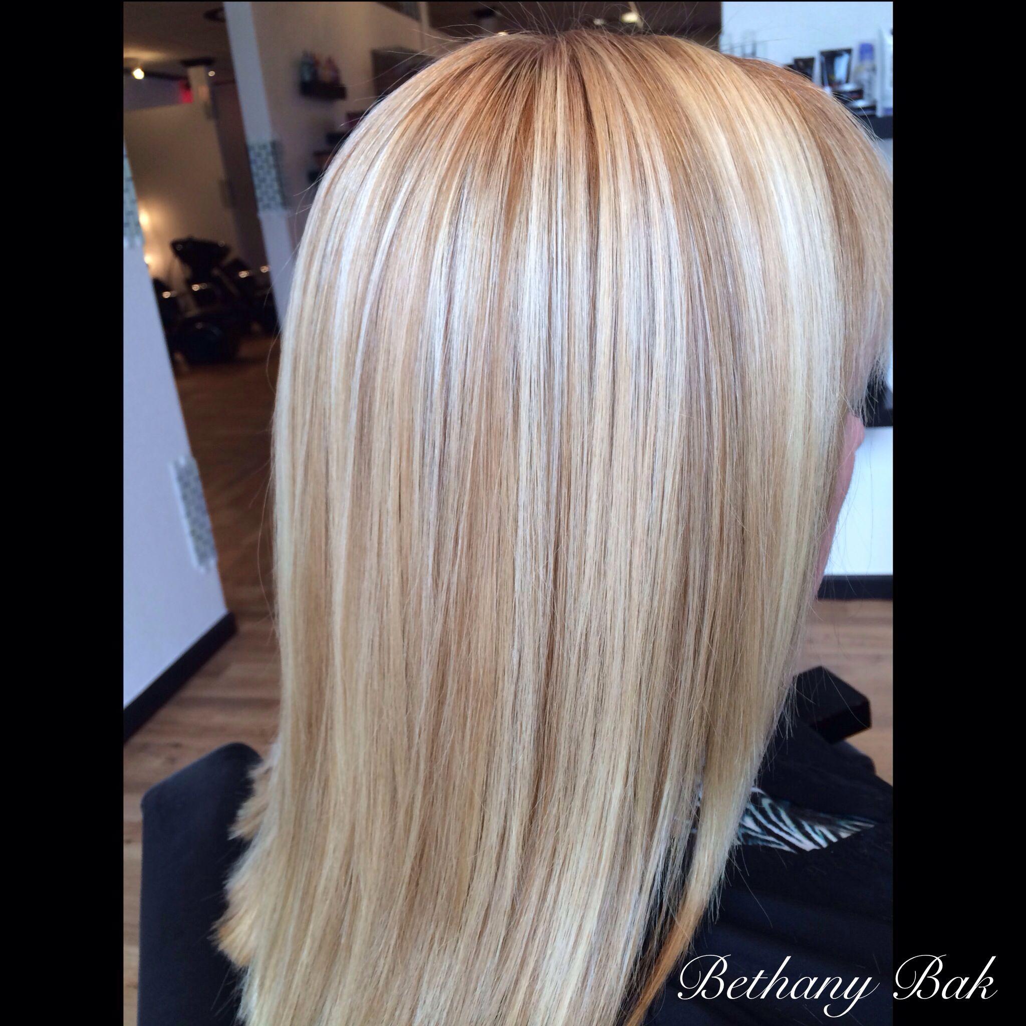 Beautiful blonde tones.