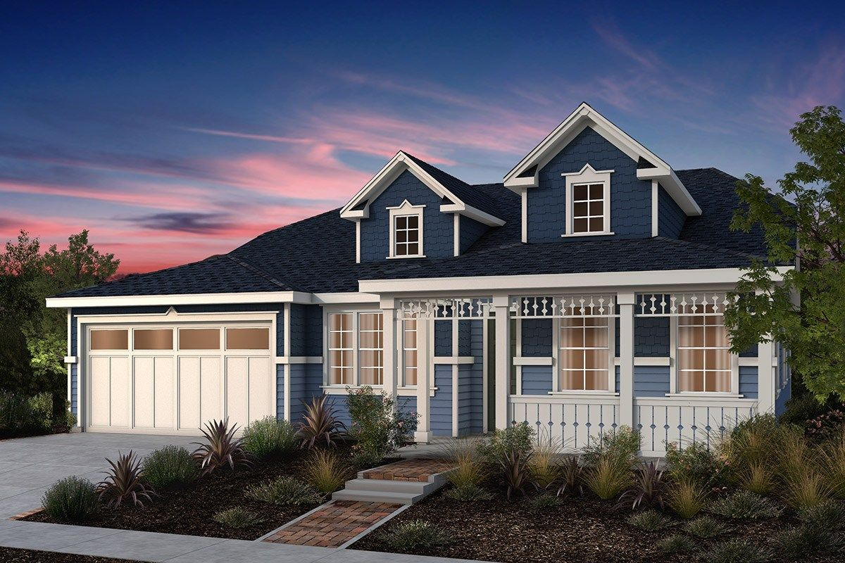North Grove At Patterson Ranch By Kb Home In Fremont California Modern Beach House Modern House Design Beach House