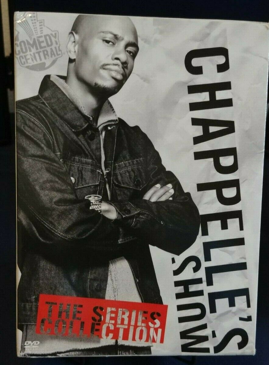 Chappelle S Show The Series Collection Chappelle S Show Dvd Set Comedy Central