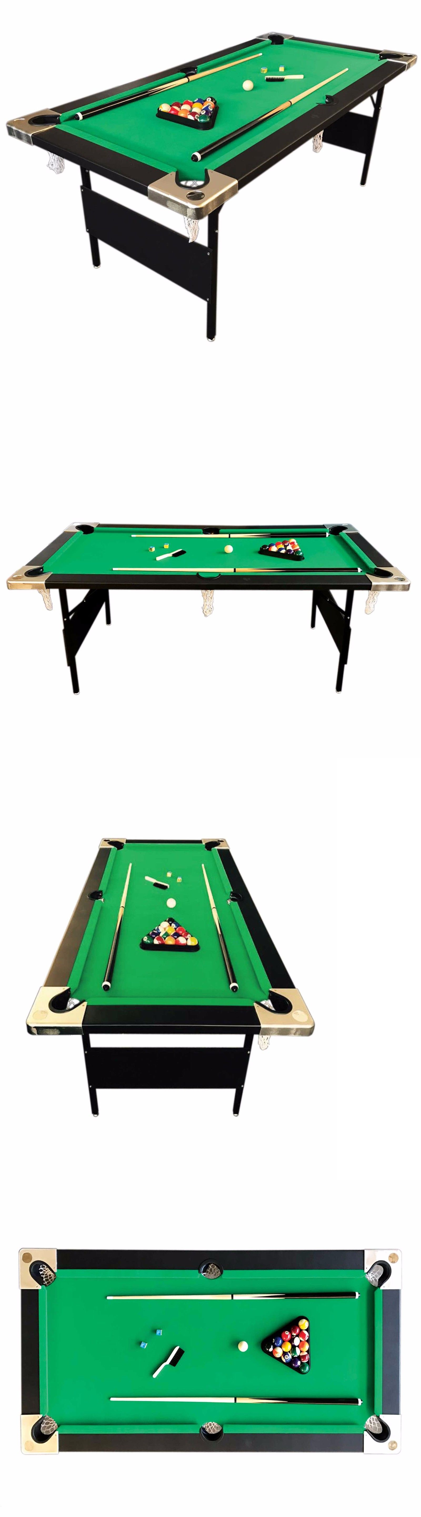 Pool table legs accessories for sale - Tables 21213 6 Feet Billiard Pool Table Portable Snooker Accessories Included Game Colorado
