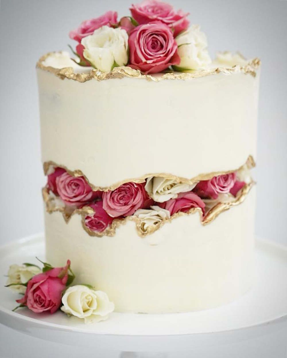 Strawberry Fault Line Cake Tutorial Video Sugar Geek Show Recipe Cake Tutorial Cake Cake Trends