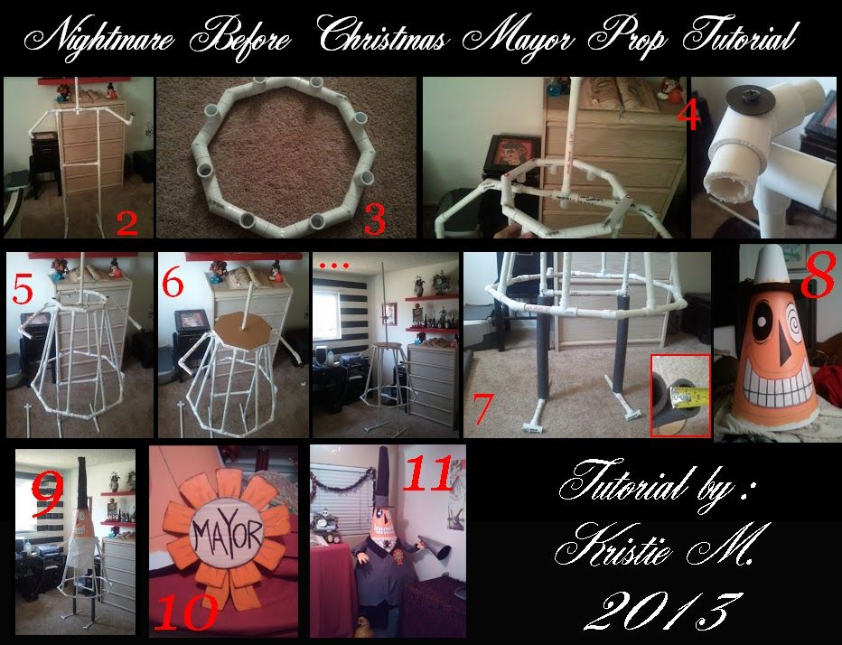 DIY Nightmare Before Christmas Halloween Props | Halloween | Pinterest