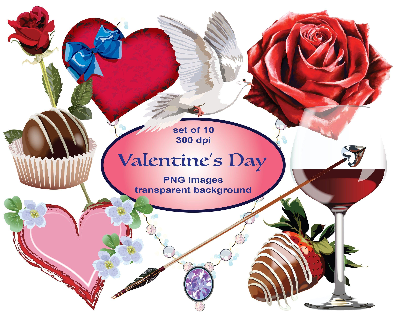 Valentine S Day Clip Art Svg Clipart Romance Clipart Etsy Happy Valentines Day Clipart Valentines Day Clipart Clip Art