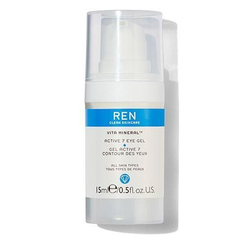 A lightweight, vegan eye gel-cream bursting with hydration to refresh and cool the skin around the eye area and help reduce the appearance of puffiness. Formulated with seven key bioactives: Arnica, Algae Extract, Ginseng, Fig Extract, Rumex, Jiaogulan and Yeast to promote daily hydration and healthy looking skin. Now in a pack containing recycled materials, using Infinity Recycling technology to help keep plastic in the loop and out of landfill. WHY YOU'LL LOVE IT: Eyes appear brighter, visibly