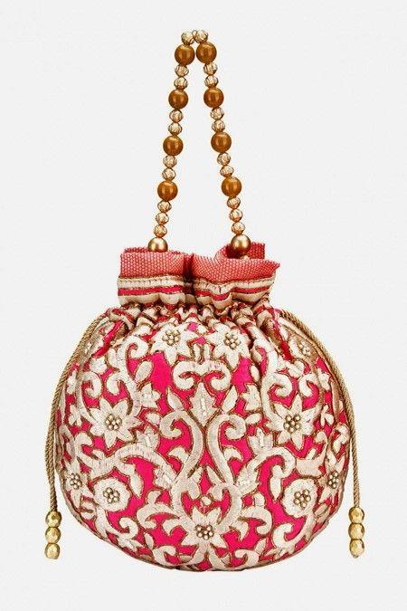 d36517acc2ce7 Batua purse design in brocade   Sushma Mittal [etc] in 2019   Potli ...