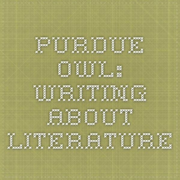 Purdue essay