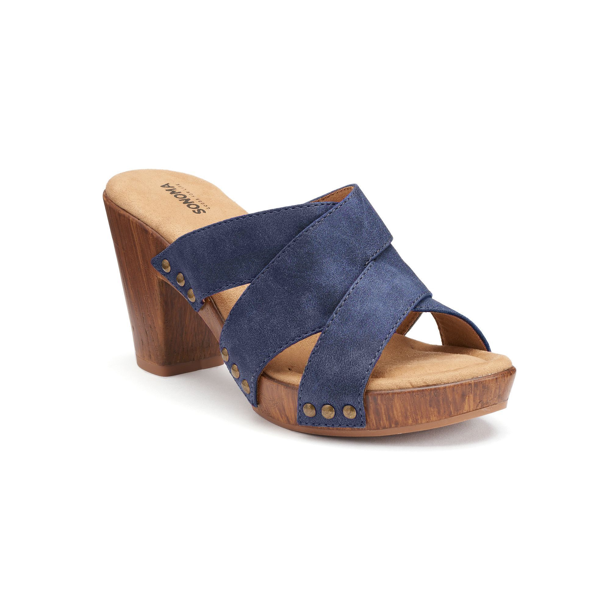 cc2fa470f54 SONOMA Goods for Life™ Eeva Women's Block-Heel Sandals   Products ...