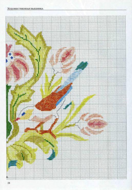 Gallery.ru / Foto # 28 - Bordado. Patrones, cartas, instrucciones ...