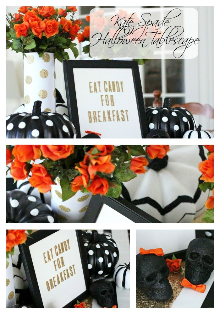Kate Spade Halloween Tablescape And Weekend Vlog: Getting Ready For Fall,  Trying Some Autumn