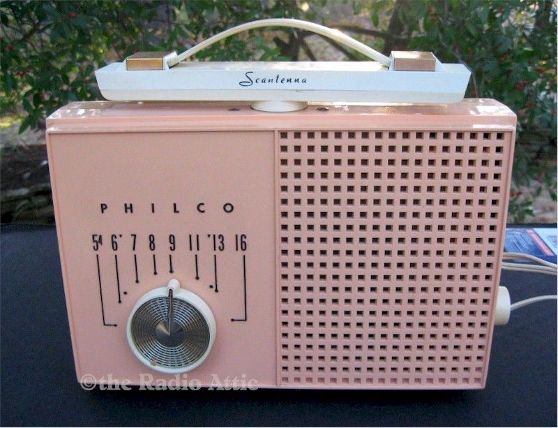 "Philco G-681 ""Scantenna"" Portable (1959)"