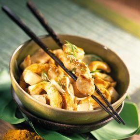 Wok de poulet aux panais - Recettes