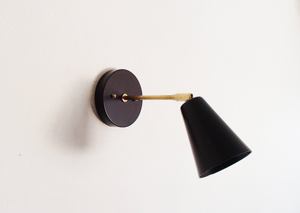 Modern Extended Wall Sconce Mid Century Atomic Swivel Etsy In 2020 Sconces Wall Sconces Adjustable Wall Lamp