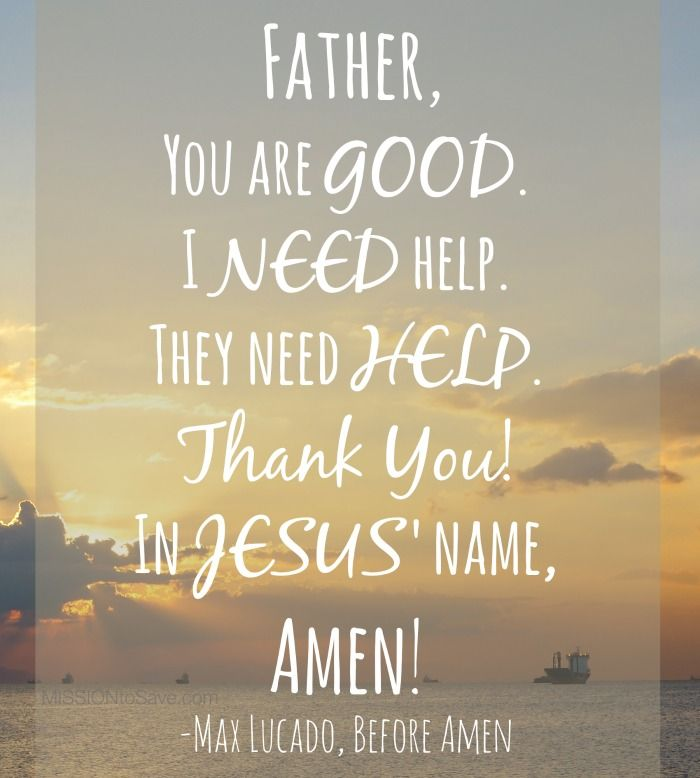 Short Simple Christian Quotes: Max Lucado's New Book #BeforeAmen Is Simple And Powerful