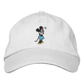 d28302968bf3d Classic Minnie Mouse Embroidered Baseball Cap Embroidered Baseball Caps