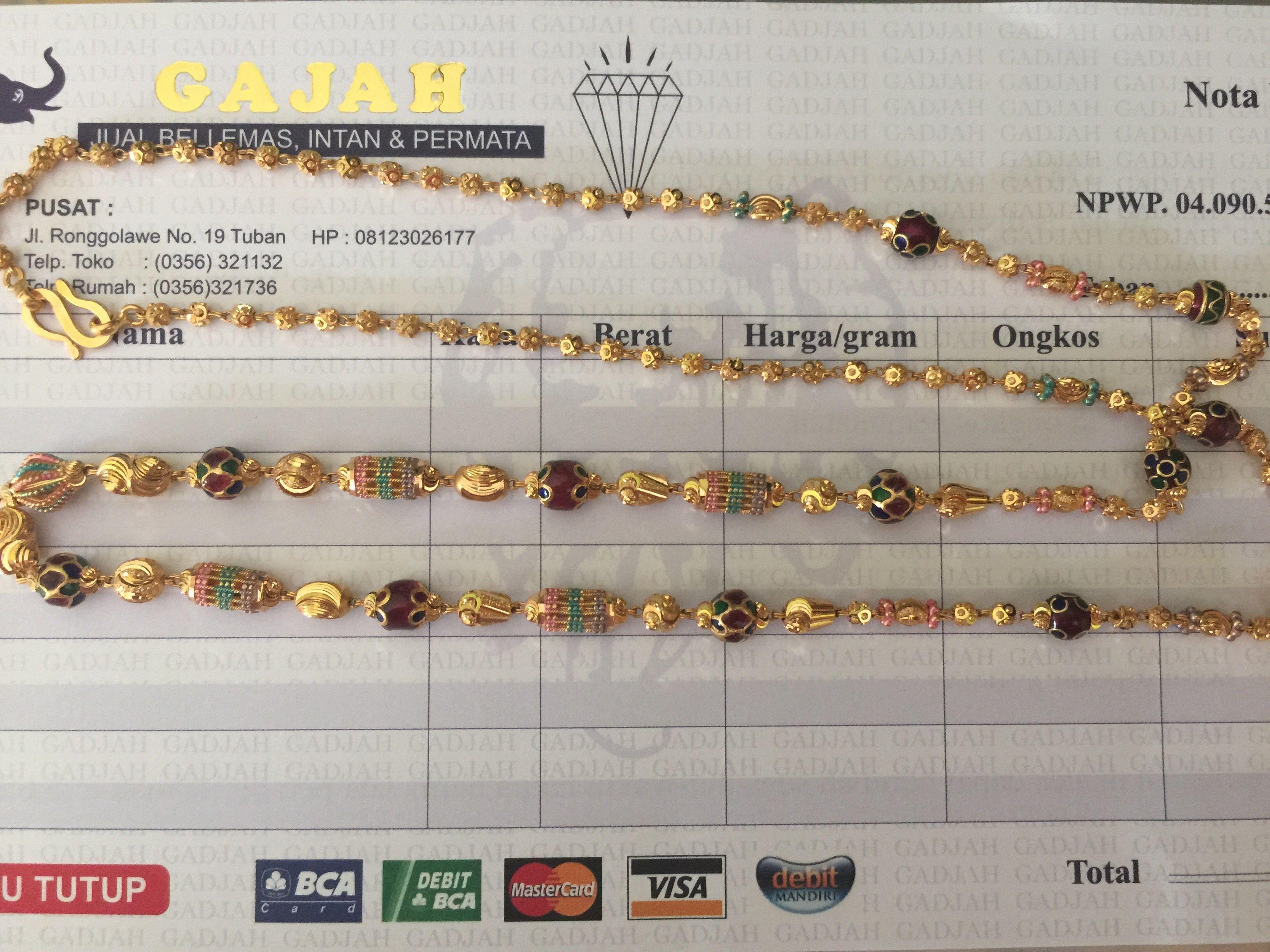 22k Gold India Dubai Ornament Necklace 70cm Necklace70cm Pandora Jewelry Box Pandora Jewelry Necklace Diy Jewelry Necklace