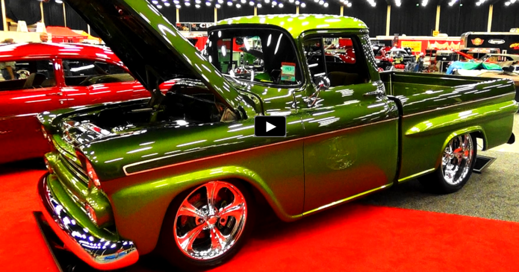 Fabulous 1959 Chevy Fleet Side Custom Trucks Hot Cars Custom