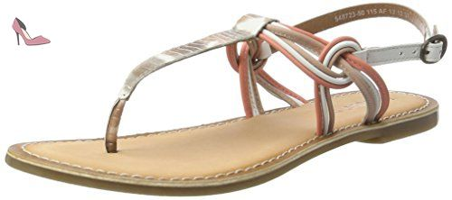 Kickers Dixmillion, Sandales fille - Or (Or/Multico), 32 EU