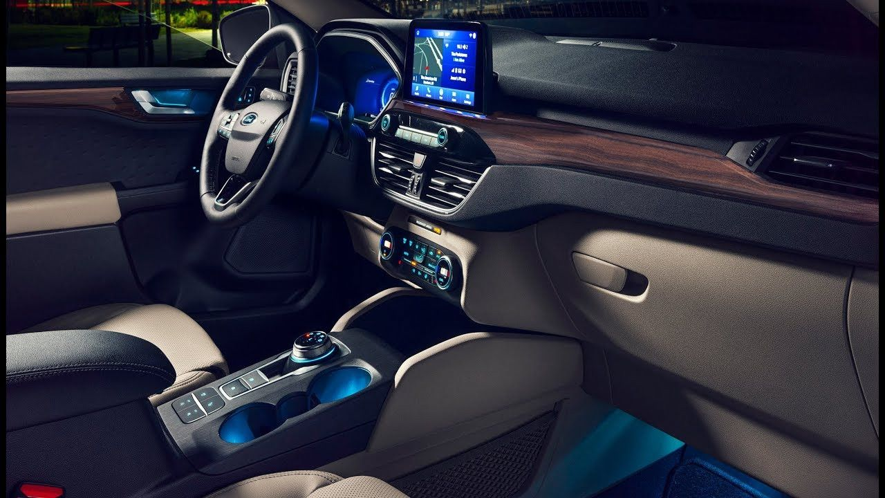 2020 Ford Escape Interior Redesign and Price for 2020 Ford
