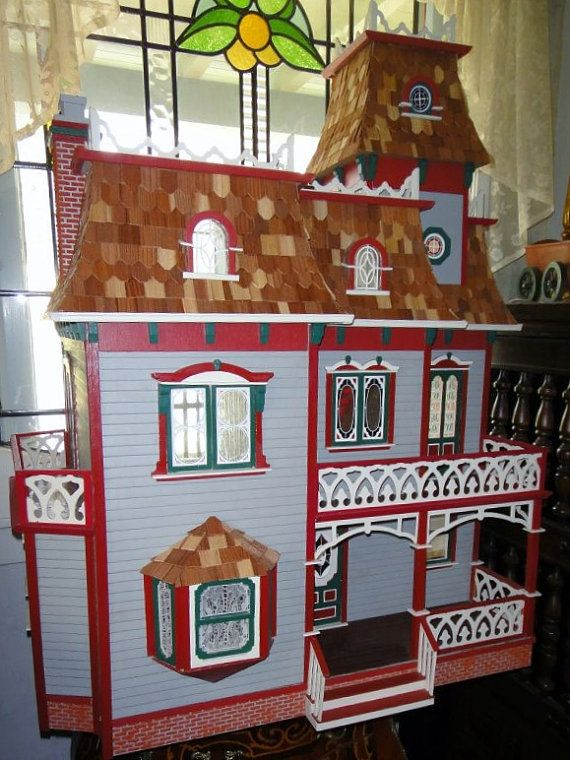 Magnificent Cambridge Mansion Dollhouse. | Doll house