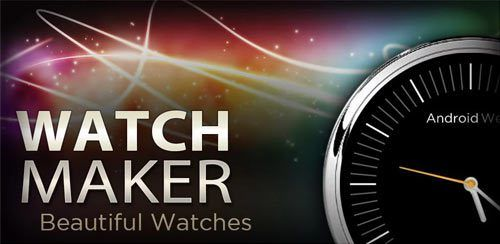 Get WatchMaker Premium Watch Face 3 9 3 Final Apk is Here