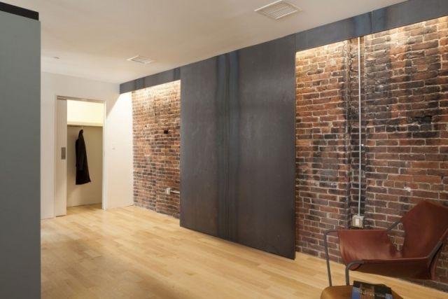 mauer wand effekt-ziegel gestalten-ideen trends-hayden building, Wohnzimmer