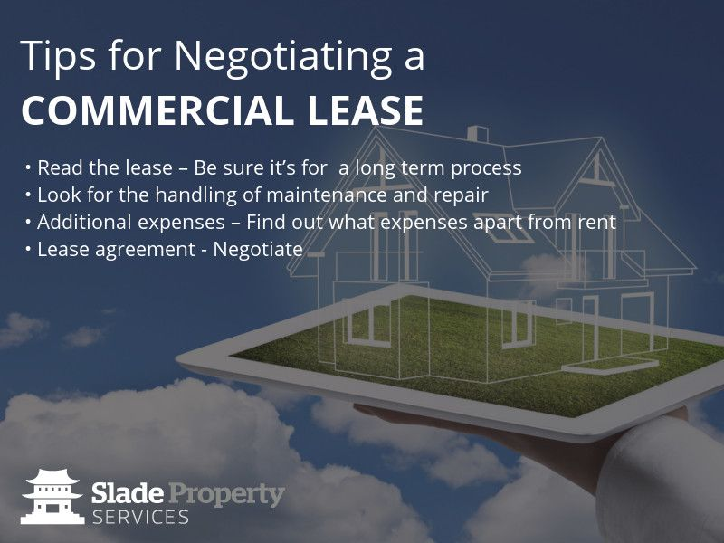 Tips For Negotiating A Commercial Lease  Read The Lease  Be