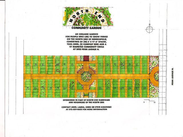 garden layout Bereas East Ridge Community Garden
