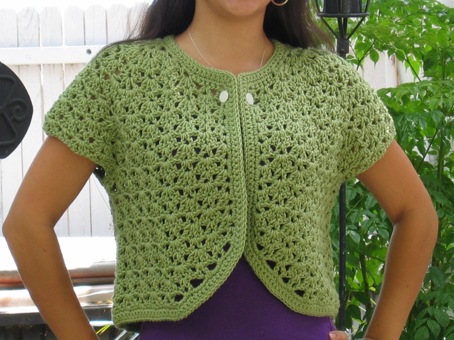 Easy Crochet Cardigan Free Patterns | How to Crochet a Sleeve in a ...