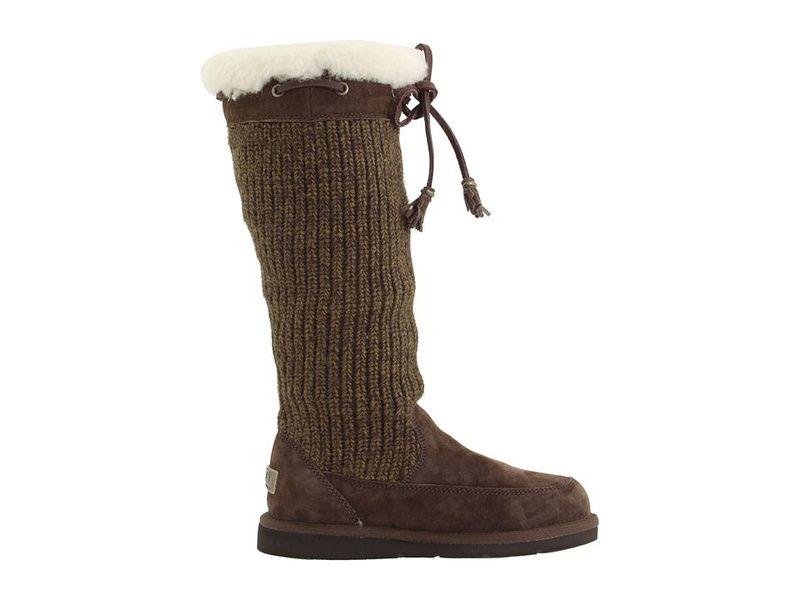 bda222316e5 UGG 5733 Espresso Suburb Crochet Tall Boots $140.42 | My Style ...
