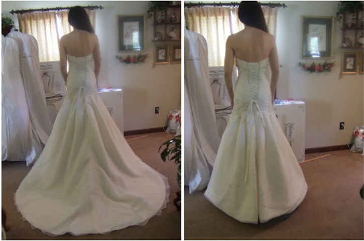 Different Types Of Wedding Gown Bustles - Wedding Dresses