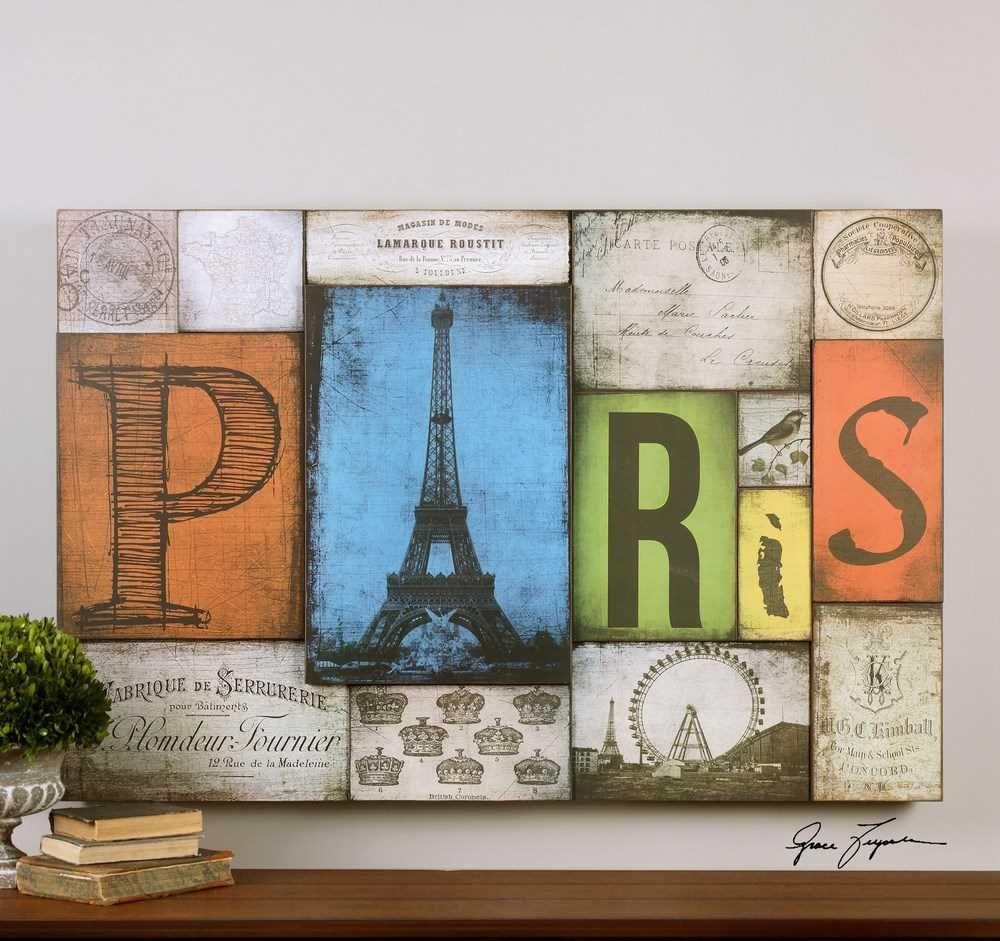All Things Paris 60x40 Hand Painted Print Art #WallArt #FramedWallArt #walldecor #HomeDecor #InteriorDesigner #pariswallart #parisart #interiordesignideas #HomeDecorating #interiordesign #furniture #parispainting #efurnituremart #HomeDecorator #decor #roomdecorating - eFurnitureMart, eFurniture Mart