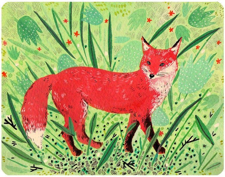 red fox by beccastadtlander on Etsy https://www.etsy.com/listing/54451314/red-fox