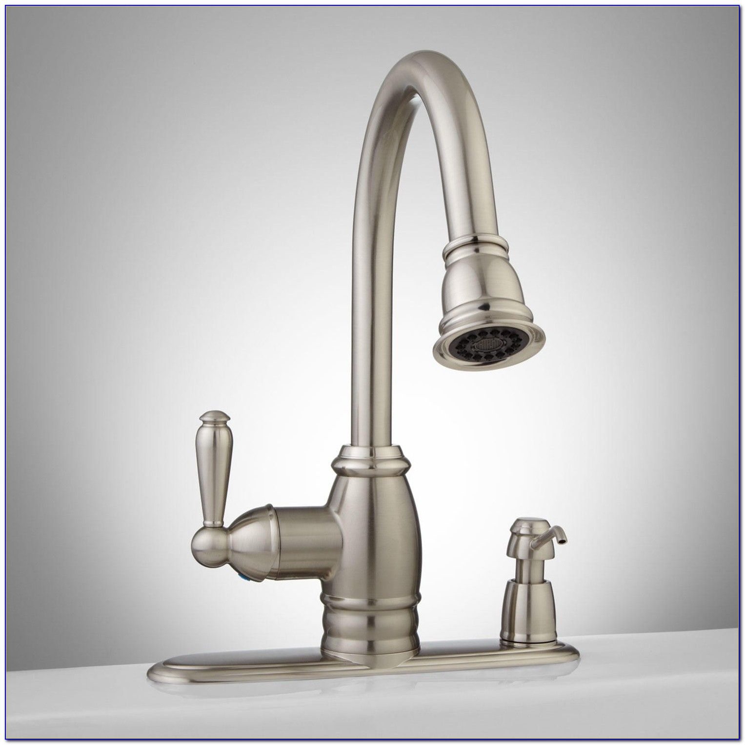 Kitchen Faucet With Soap Dispenser Costco Faucets Home Design Quot Pull  Down Sink Ebay