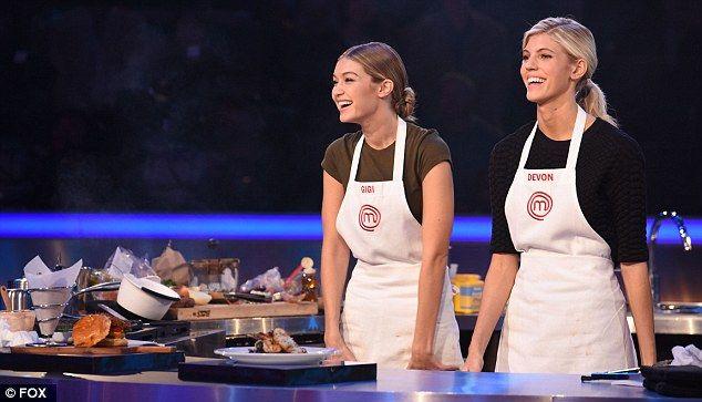 Gigi Hadid Guest Stars On Masterchef Celebrity Showdown