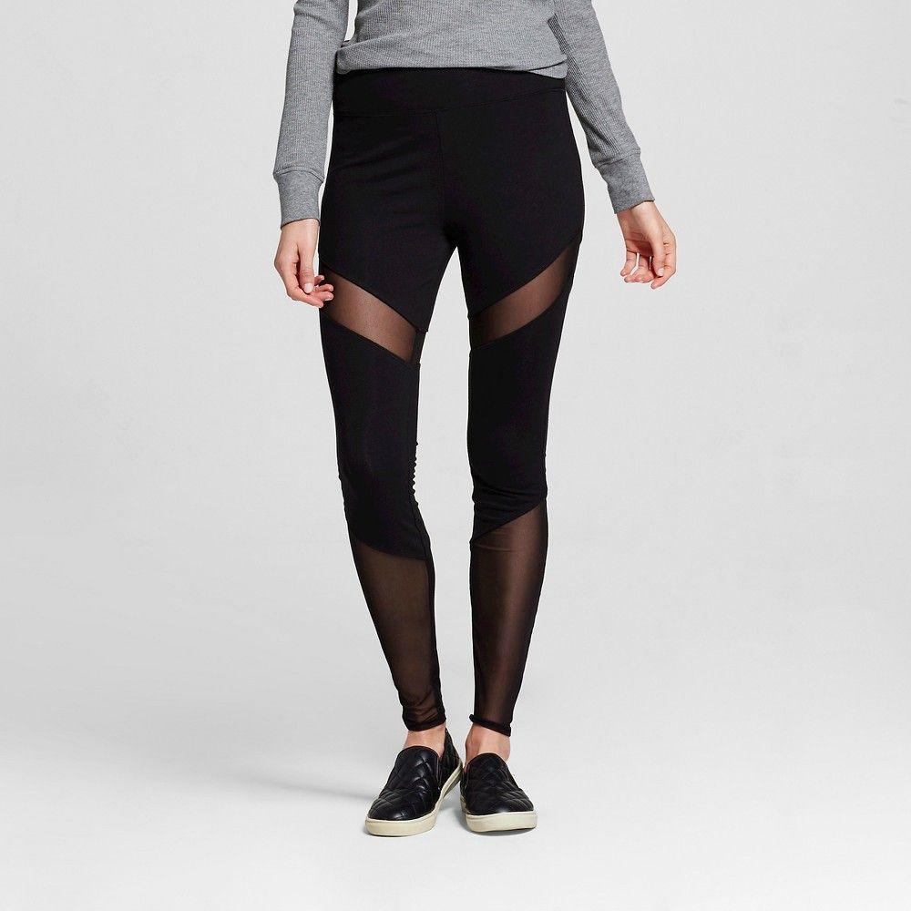0a5e88edf6160 Women's Yoga High Waist Pant Ebony XS- Mossimo Supply Co. (Juniors ...