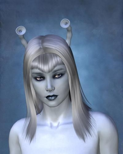 Andorian Female  I Imagine A Brilliant Young Woman Recently