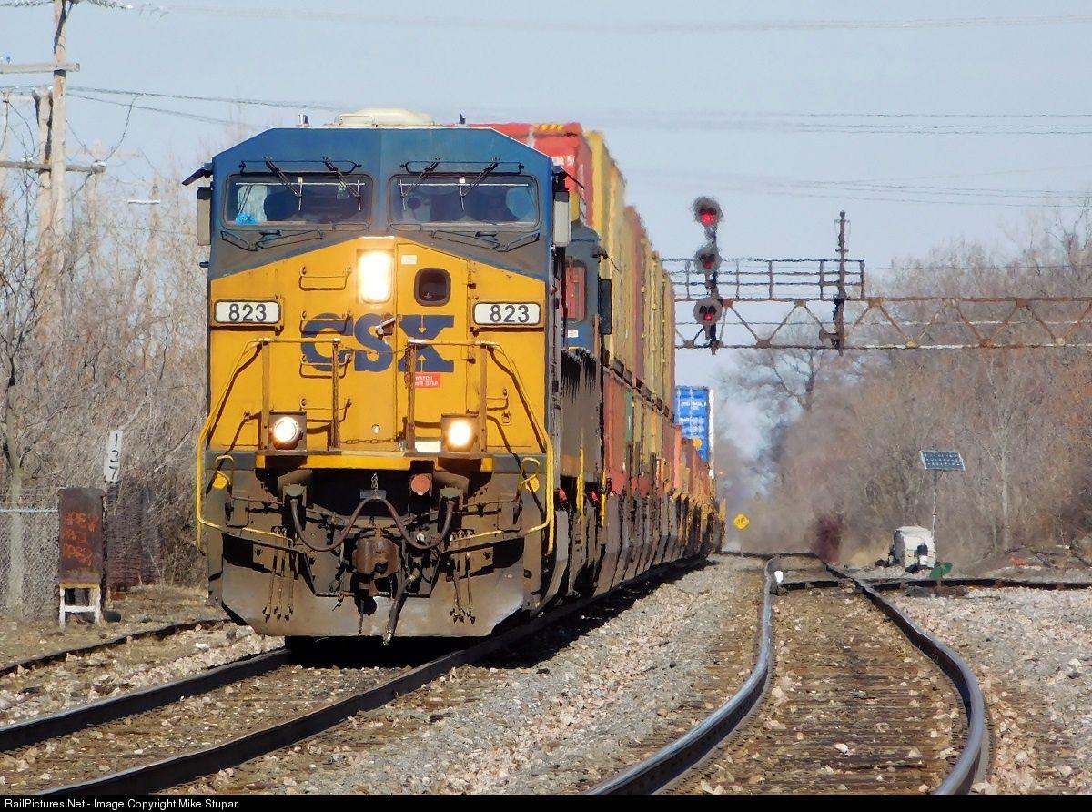 Photo CSXT 823 CSX Transportation (CSXT