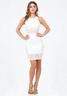 Gwen+Studded+Corset+Dress