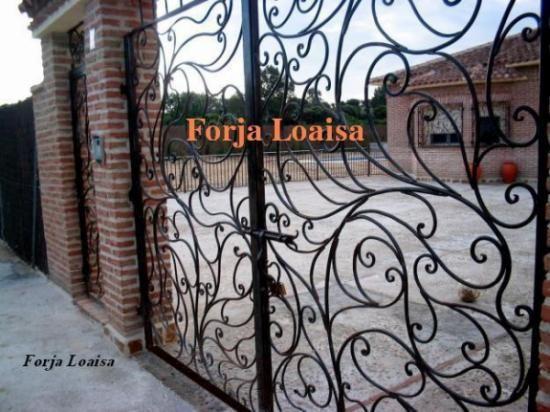 Pin de pedro loaisa en reformas y dise o pinterest hierro rejas y puertas - Fierro forjado santiago ...