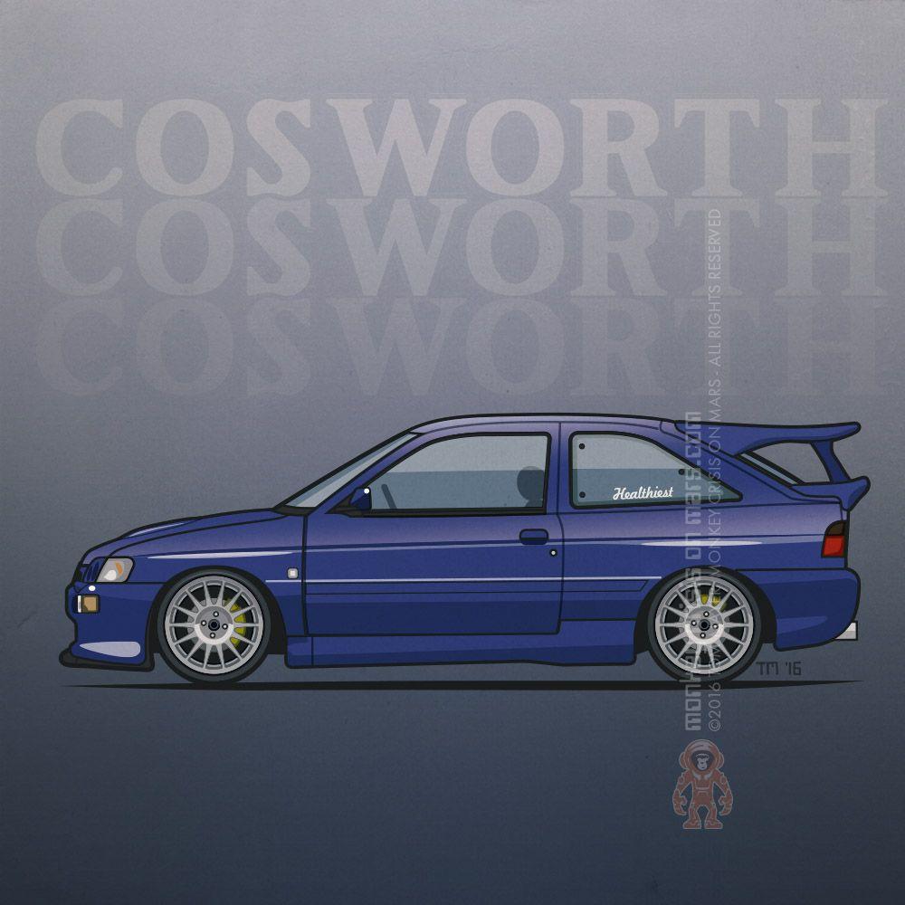 ford escort mk5 cosworth
