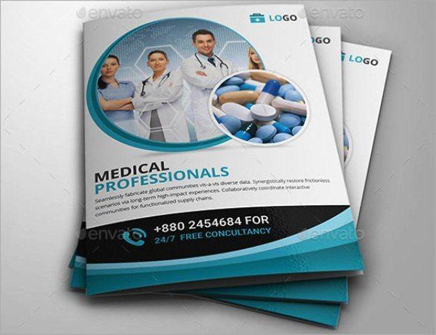 Brosur Medis Kesehatan Klinik dan Rumah Sakit Brochure - free medical brochure templates