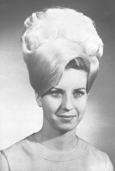 Looking into the future, through a beehive | Bouffant hair ...