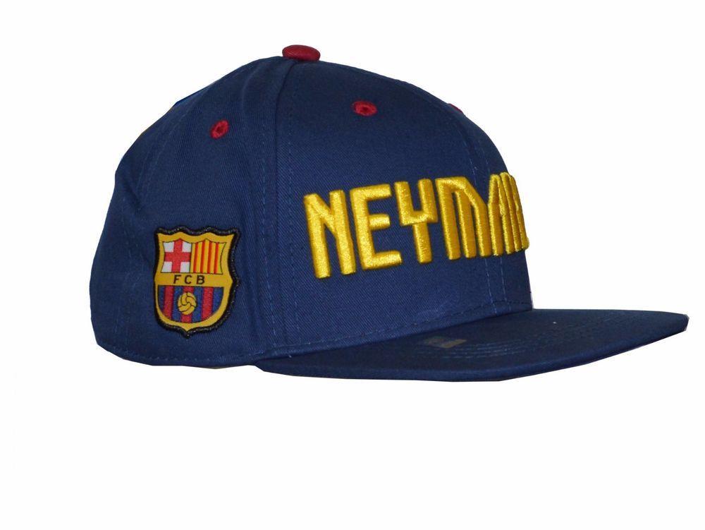 3df47654494 Neymar Jr Snapback Fc Barcelona Soccer Adults Mens Adjustable Cap Hat -  Blue  Rhinox  FCBarcelona